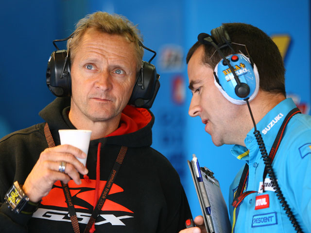 Kevin Schwantz insiste en estar en MotoGP en 2009