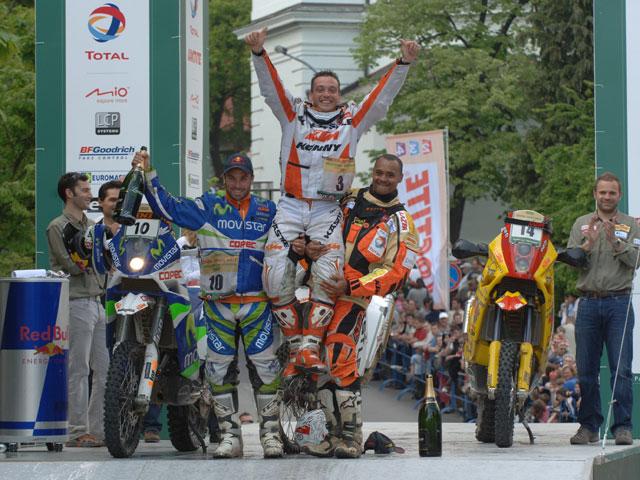 Triunfo para Casteau (KTM) y Pellicer (Yamaha) roza el podio en las Dakar Series