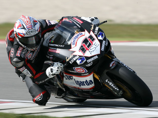 Xaus (Ducati) saldrá tercero en Assen. Bayliss (Ducati) pole
