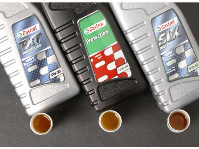 Mantenimiento moto: aceites de motor