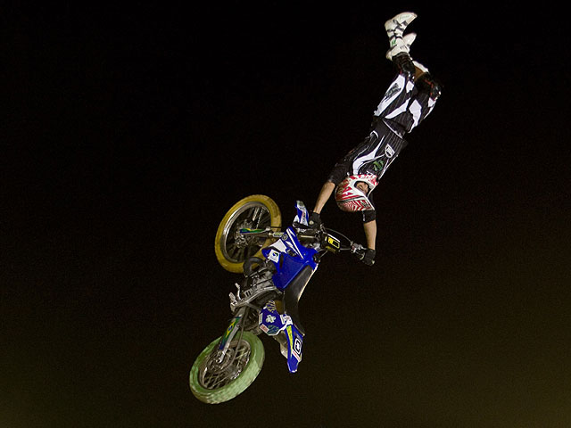 Stenberg, ganador de Red Bull X-Fighters.