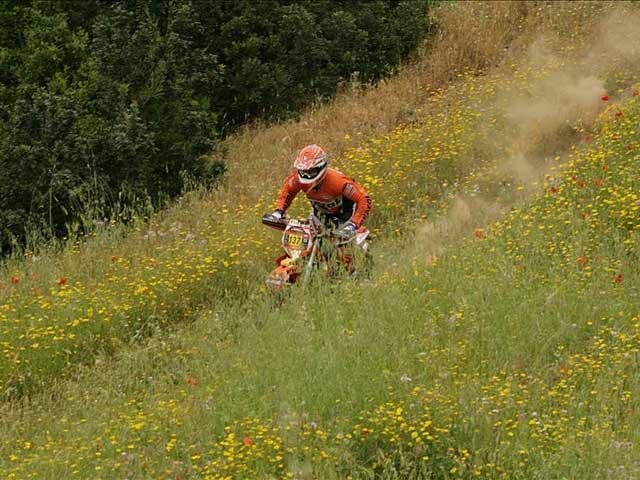 Victoria parcial de Jordi Viladoms (KTM) en Cerdeña