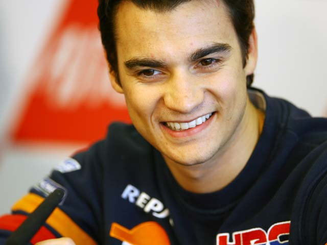 """Dani Pedrosa (Honda): """"Hay que mantener la concentración, mañana puede llover"""""""