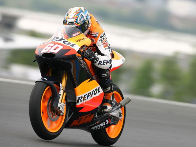 Julián Simón (KTM) se impone en los último libres