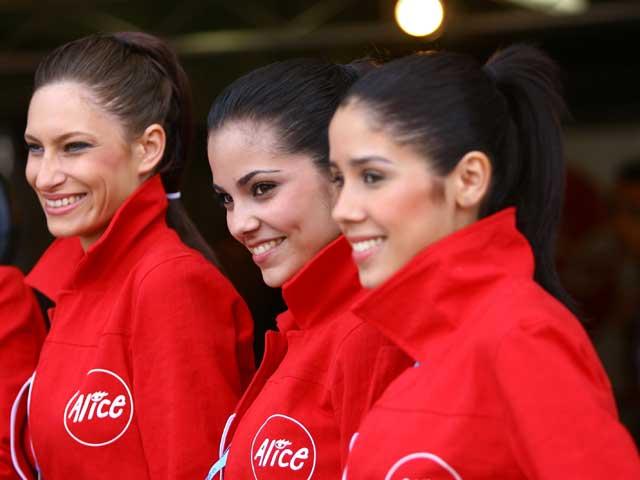 Imágenes de las chicas del GP de Francia