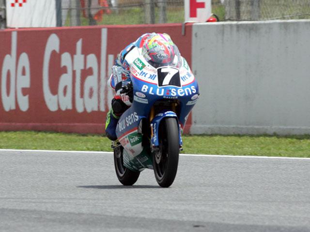 Morales (Yamaha), Rodríguez (Yamaha) y Vázquez (Aprilia), los más rápidos
