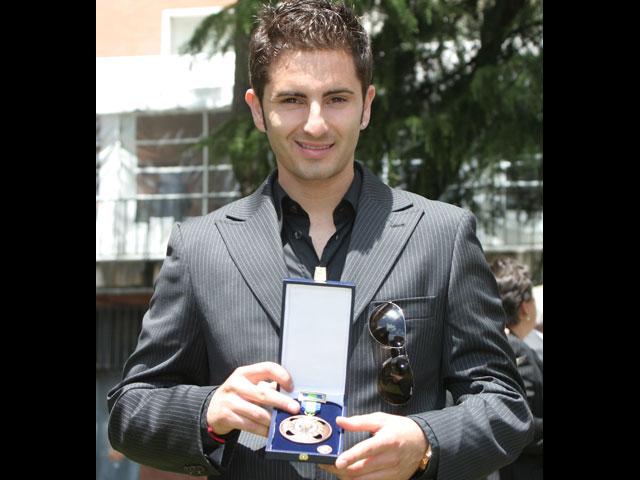 Héctor Faubel, medalla al mérito deportivo.