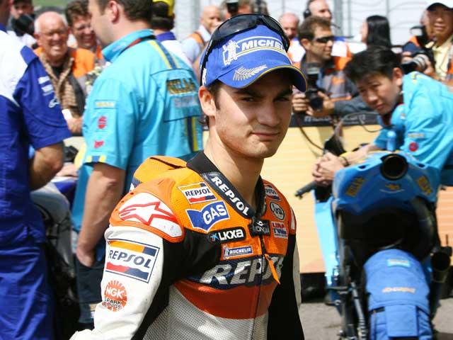 """D. Pedrosa (Honda): """"Es bueno regresar de nuevo al podio"""""""