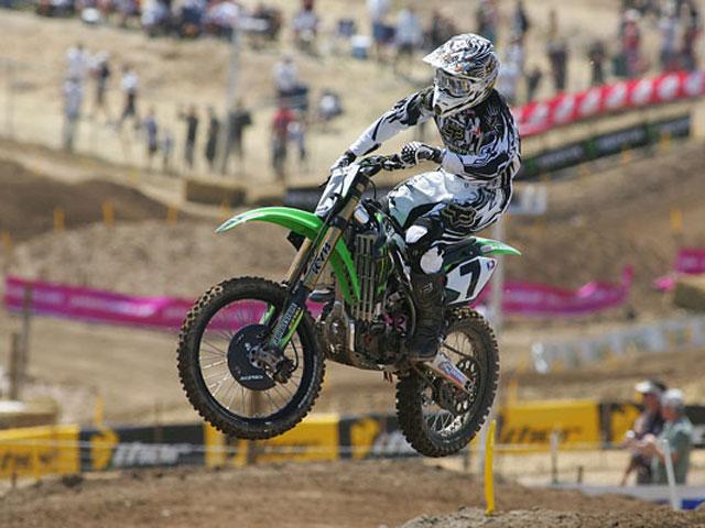 Stewart, dos de dos en el AMA de Motocross