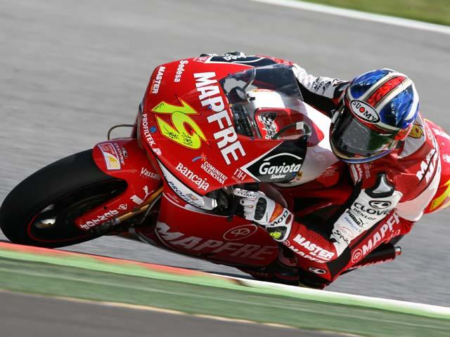 Alvaro Bautista, Aprilia, mejor tiempo en el Gran Premio de Gran Bretaña