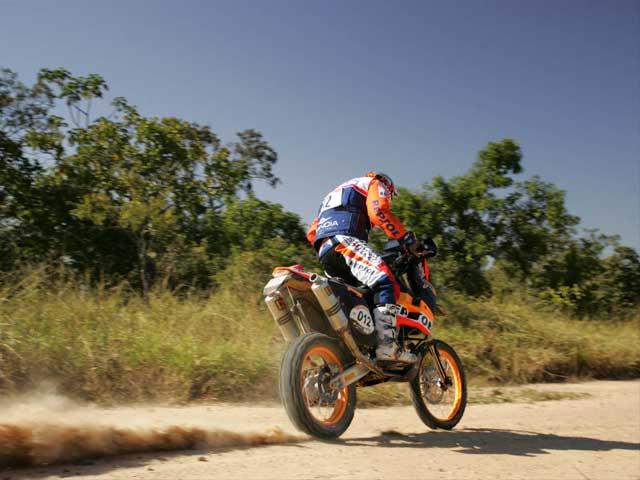 Marc Coma (KTM) mantiene el buen ritmo en Brasil