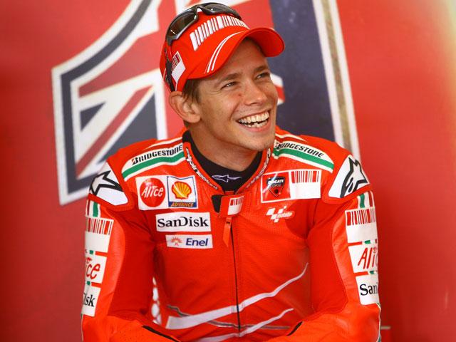 """C. Stoner (Ducati): """"Me siento bastante confiado"""""""