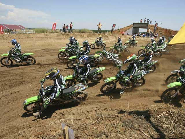 Comienza la Copa Kawasaki de Mototocross