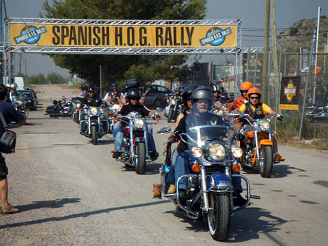 Harley Davidson celebra el Spanish HOG Rally 2008