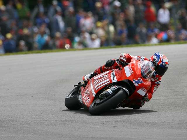 Casey Stoner (Ducati) es el rival a batir en MotoGP