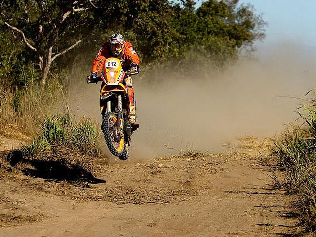 Marc Coma (KTM), quinto a falta de una etapa