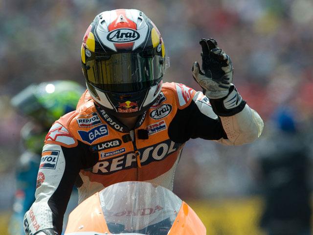 """Dani Pedrosa (Honda) """"Estoy satisfecho con este resultado"""""""