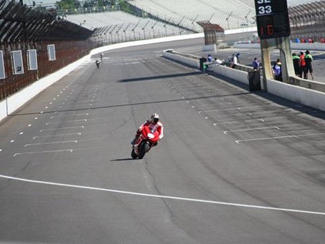 Canepa, el más rápido en Indianápolis