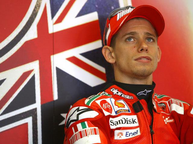 """Casey Stoner (Ducati): """"Estamos dándolo todo para recortar puntos en la general"""""""