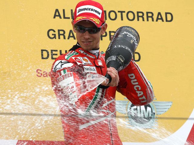 """Stoner (Ducati): """"No había ninguna posibilidad de llevar el ritmo de Pedrosa"""""""