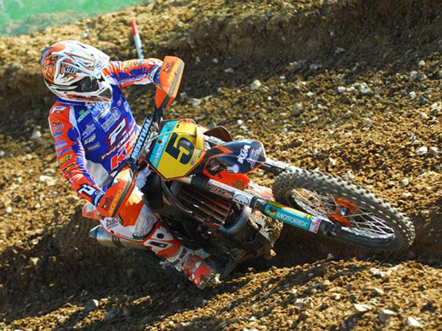 El regreso de Álvaro Lozano (KTM)