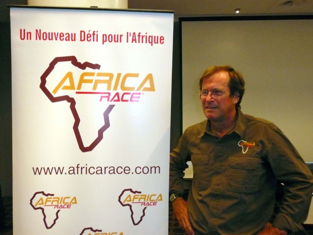 Hubert Auriol presentó la Africa Race