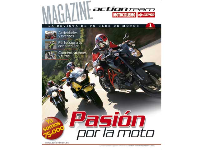 "Nace ""Action Team Magazine"""