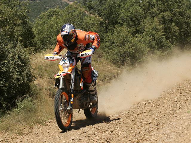 Primera victoria para Marc Coma (KTM) en la Baja España-Aragón 2008