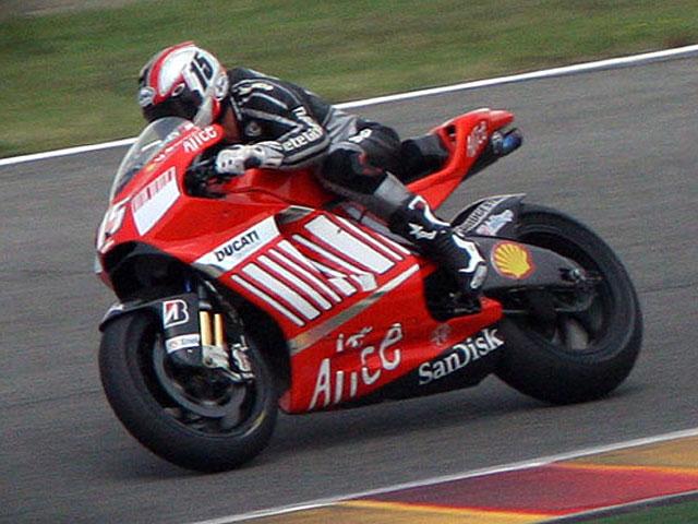 Sete Gibernau hace las pruebas definitivas con Ducati