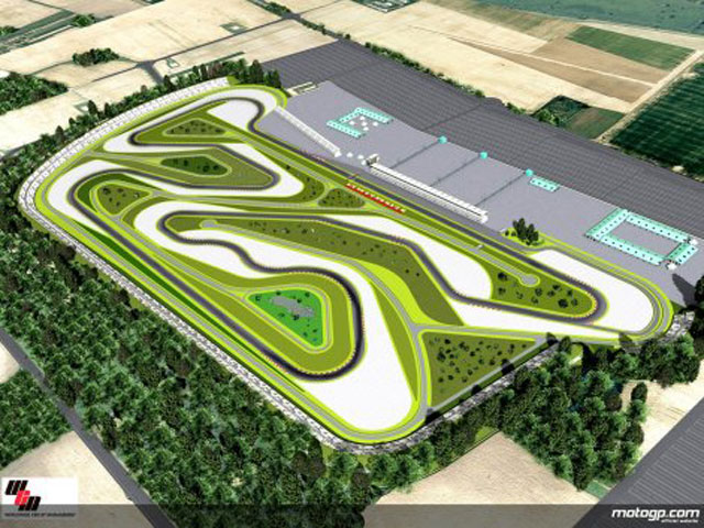 Dorna propone incluir el GP de Hungría en 2009