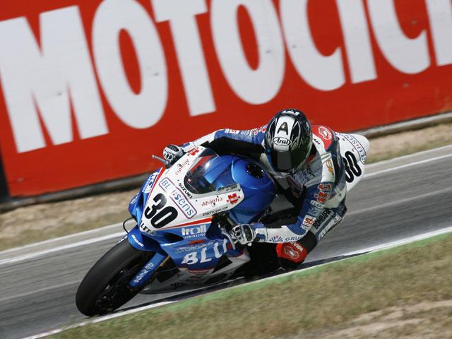 Cardoso (Suzuki), Rodri (Yamaha) y Martin (Aprilia) pole en Albacete