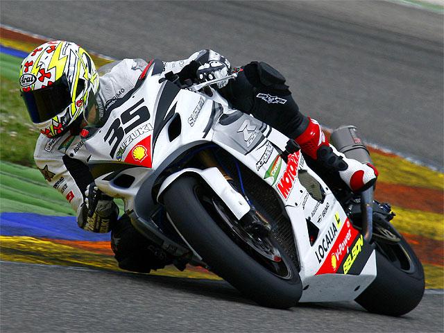 Kenny Noyes (Suzuki), invitado en el AMA en la categoría Superstock 1000