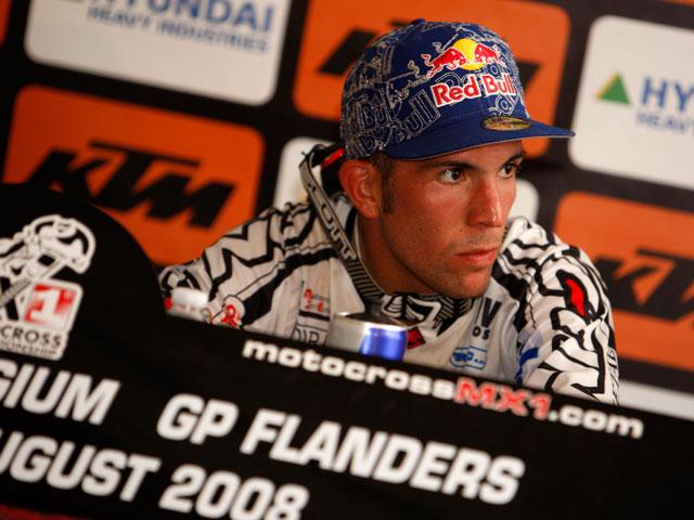 """Jonathan Barragán: """"No quiero irme de KTM"""""""