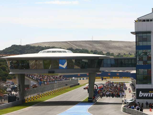Nuevo asfalto en el Circuito de Jerez para el Gran Premio de España 2009