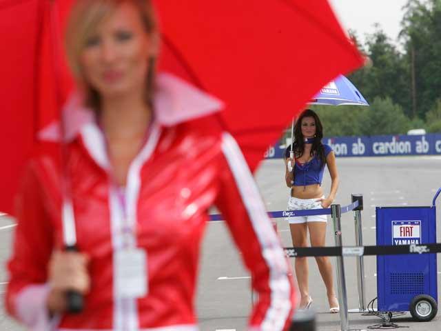 Las chicas del paddock de República Checa