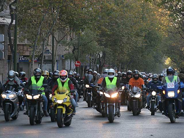 Manifestación contra la nueva ley de emisiones