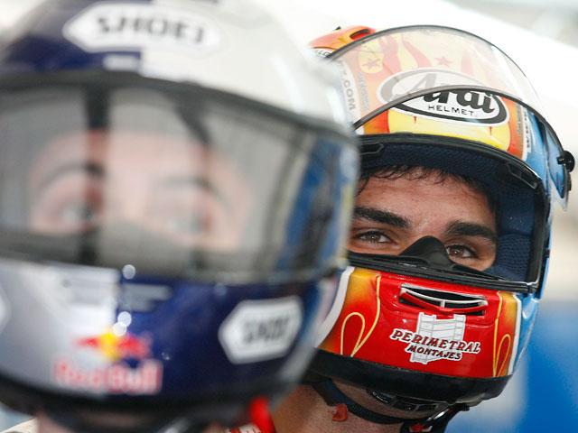 Rusell Gomez (Aprilia) deja el Mundial de MotoGP donde debutó en 250