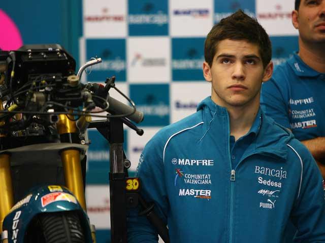 Pere Tutusaus (Aprilia) será sustituido en el Mundial de Velocidad