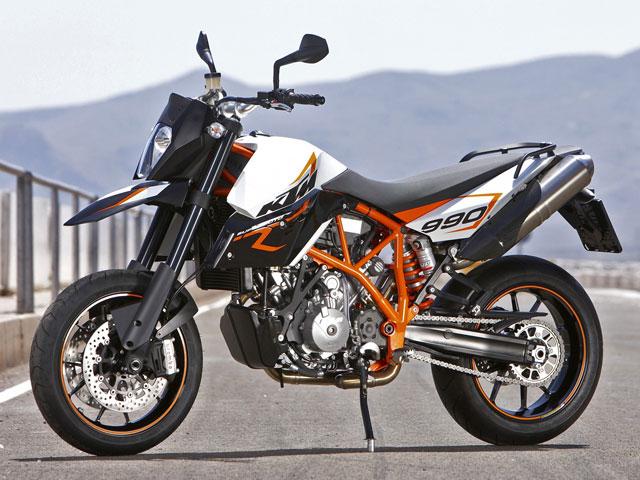 Novedad 2009: KTM 990 Supermoto R