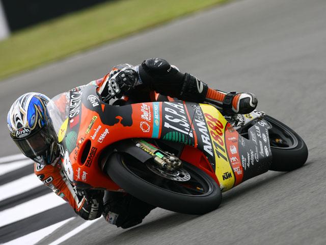 Lorenzo Zanetti (KTM), pole provisional en 125cc