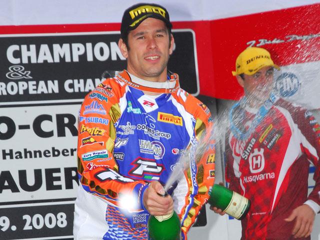 Sven Breugelmans (KTM), campeón de MX3. Lozano, segundo en la última prueba