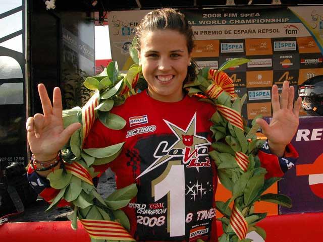 """Laia Sanz: """"Estoy muy feliz por haber logrado este octavo título mundial"""""""