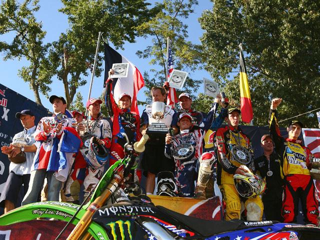 Las cartas están echadas en el Motocross de las Naciones
