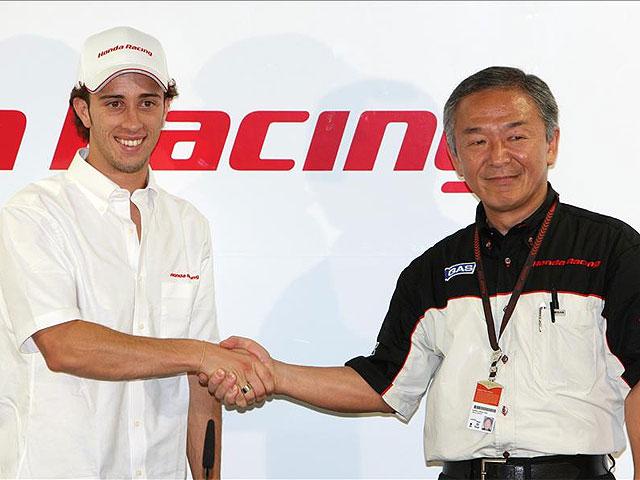 Dovizioso firma con el Repsol Honda Team