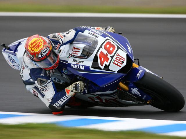 Jorge Lorenzo (Yamaha), pole y récord del circuito