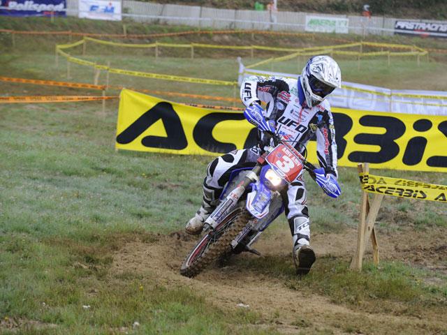 Aubert (Yamaha) y Salminen (KTM) se reparten las victorias de E2 en Italia