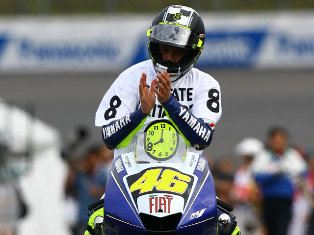Los ocho títulos de Rossi (Yamaha) en MOTOCICLISMO