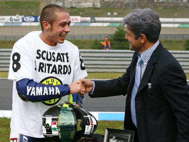 La camiseta de Valentino Rossi
