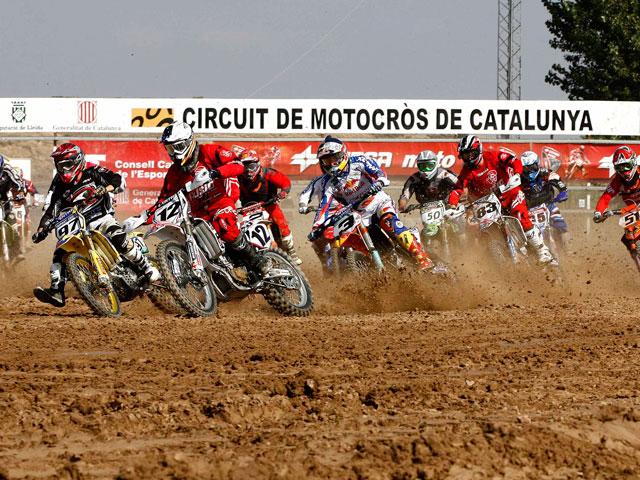 El Campeonato de España de Motocross Elite en Bellpuig