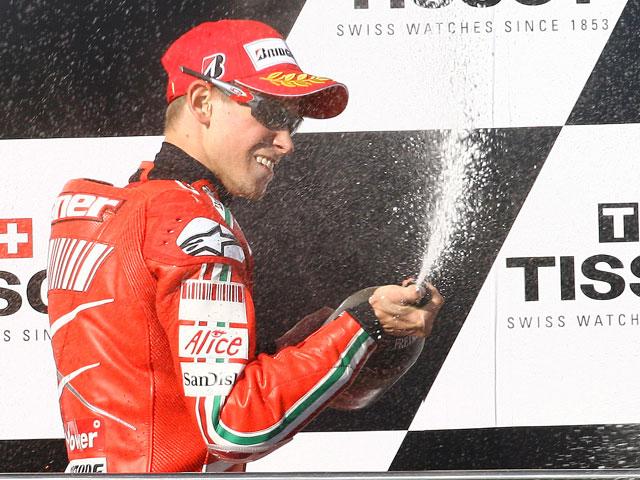 """Casey Stoner (Ducati): """"Por suerte he acabado con buena nota"""""""